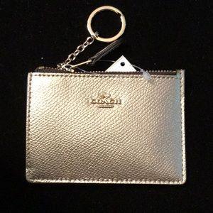 Coach ID Skinny Gold wallet